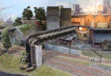 Een kolenmijn in model