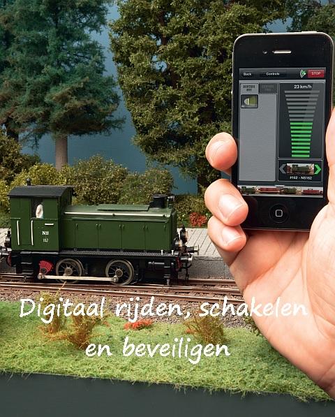 Digitaal rijden, schakelen en beveiligen, Railhobby, serie