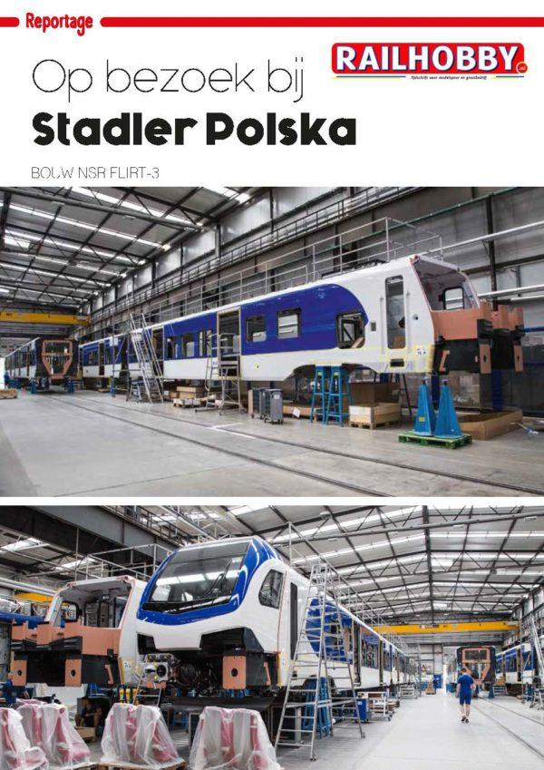 Op bezoek bij Stadler Polska, Railhobby, artikel, tijdschrift, reportage