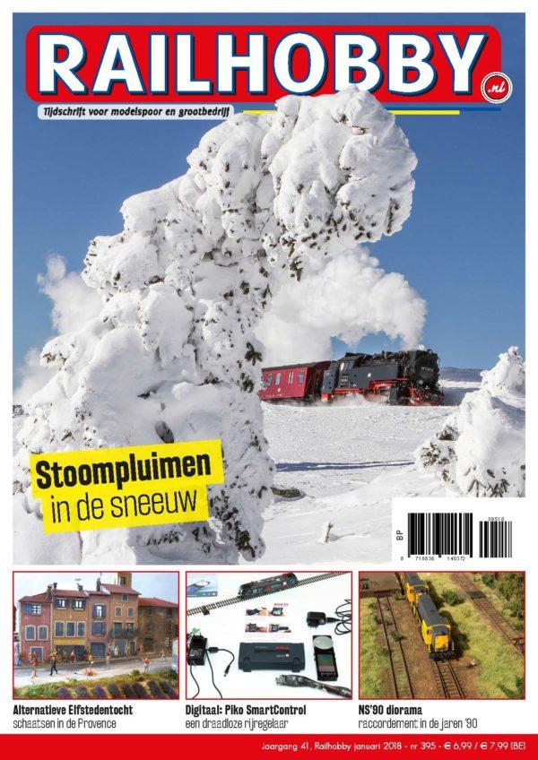 Stoompluimen in de sneeuw, Railhobby
