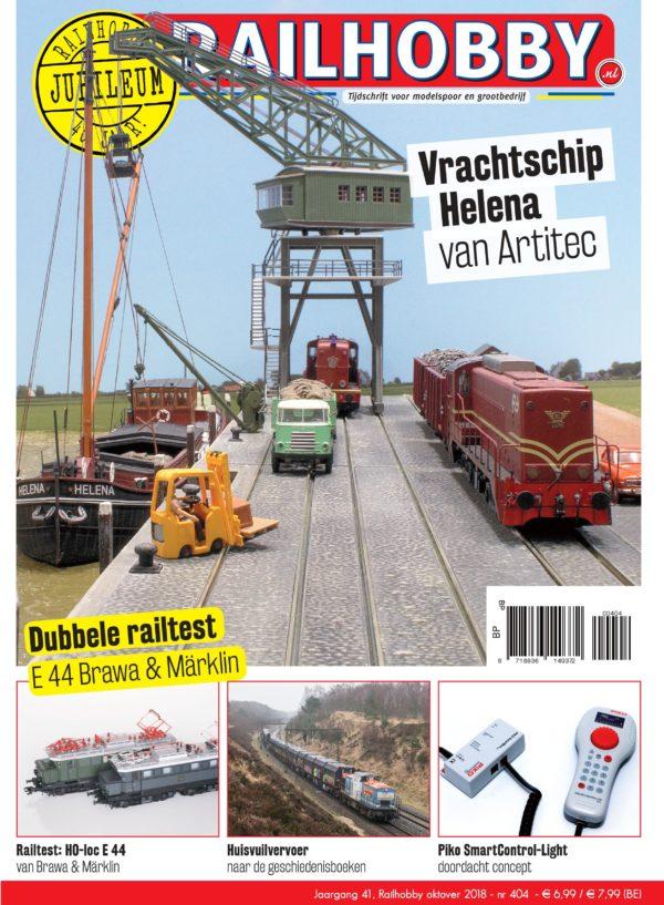 Railhobby, Railtest, Artitec, treinen, vrachtschip