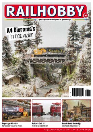 A4 Diorama's in het vizier, Railhobby, treinen