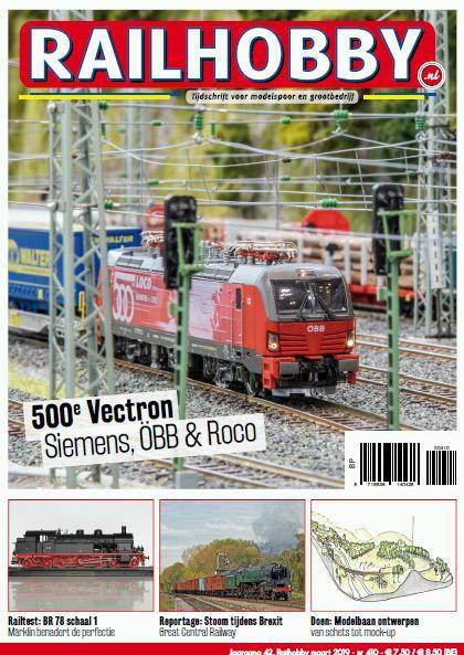 500e Vectron, treinen, Railhobby