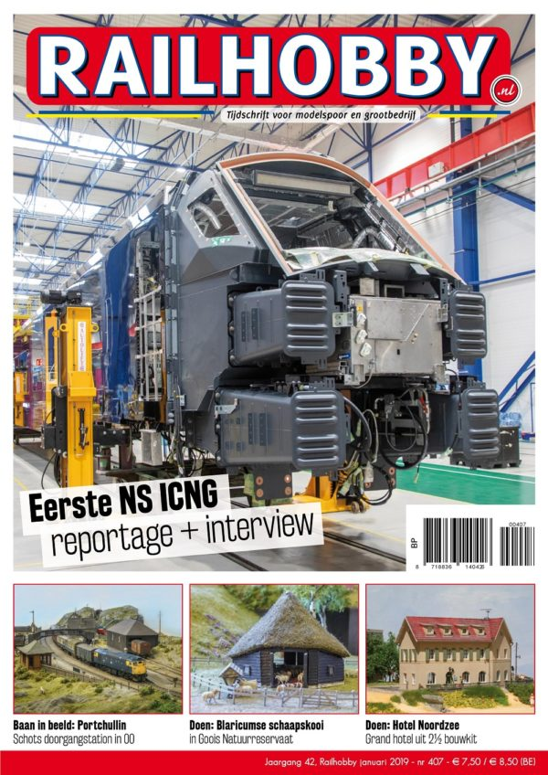 NS, reportage, interview, Railhobby, treinen