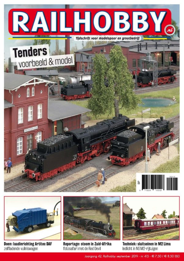 Railhobby, Tenders, treinen, modelspoor