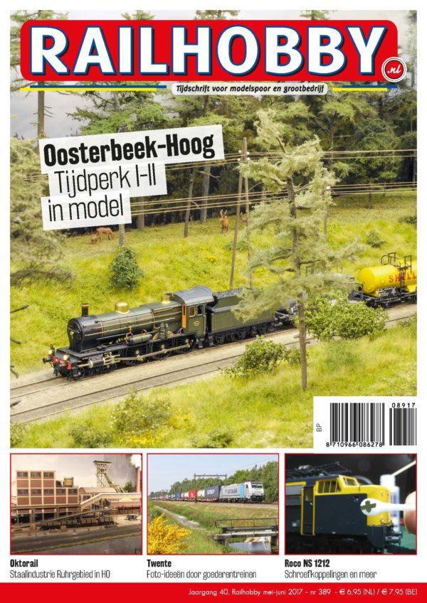 Oosterbeek-Hoog, tijdperk I-II in model, Railhobby, treinen