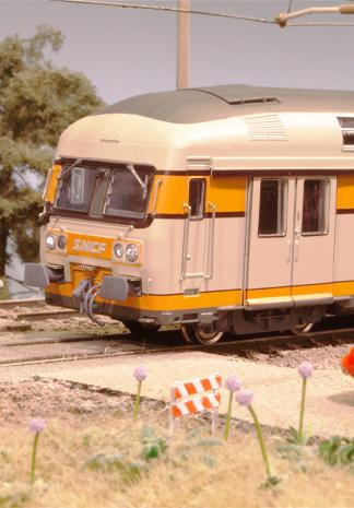 SNCF-dubbeldekkers op proef bij NS