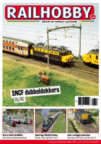 Railhobby, dubbeldekkers, treinen, modelspoor