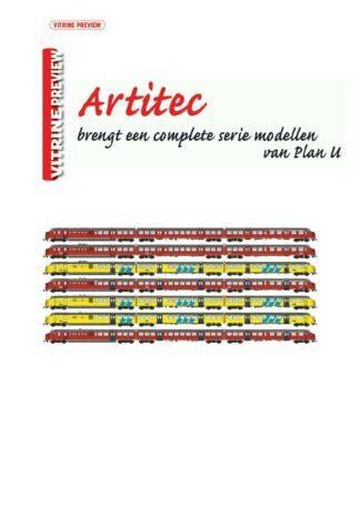 Railhobby, Artitec, Vitrine Preview Artitec Plan U, treinen