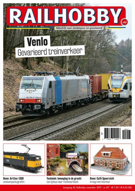Railhobby, modelspoor, baan in bouw, Chris van Diesen, Franse stoomlocs serie 141R.
