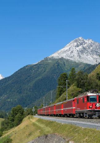 Sporen door de Alpen, Railhobby, treinen, Zwitserland