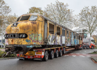 Reportage: Sloop plan U, Railhobby, treinen