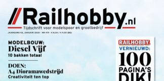 Railhobby, modelspoor, Plan U, grootbedrijf, Railhobby is vernieuwd