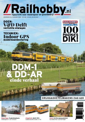 Cover, Railhobby 420, treinen