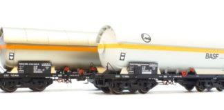 Uitgelicht: H0 drukgasketelwagens ESU, Railhobby 420, treinen