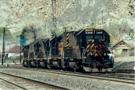 railhobby, baan in beeld, modelspoor, trein, amerika