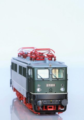 Artikel - Brawa's nieuwe E 11 van de Reichsbahn maakt indruk