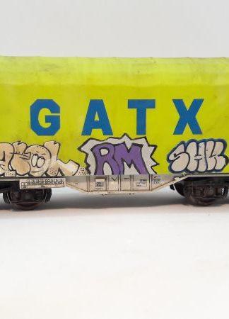 Doen: Graffiti op een huifwagen